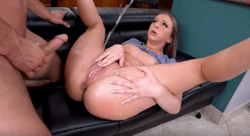 Squirting during anal sex