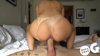 Hard Rough Sex with Adria Rae Multiple Orgasms on Thick Cock
